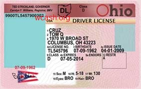 non drivers license id ohio